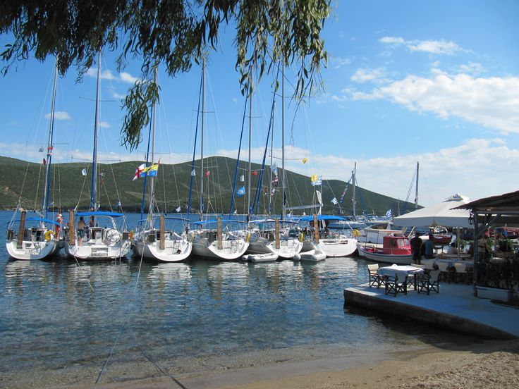 At the small island of Trikeri, Pelio, Greece