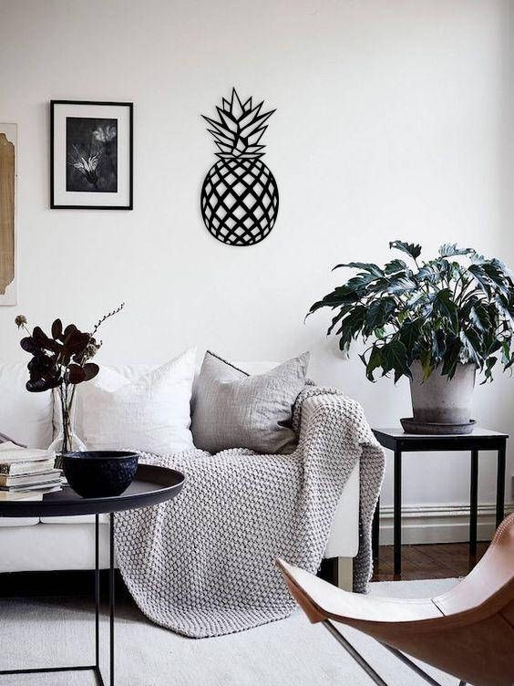 Metal Wall Art Geometric Pinele Home Decor Interior Sign Metalwallart Walldecor Wallart Wallhanging