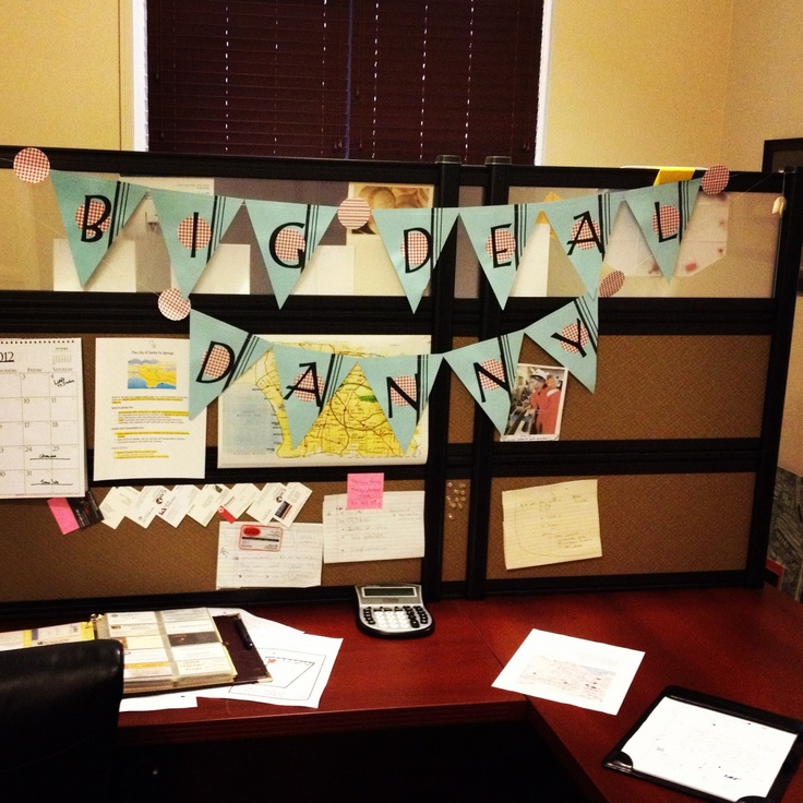 17 Best Ideas About Office Birthday Decorations On