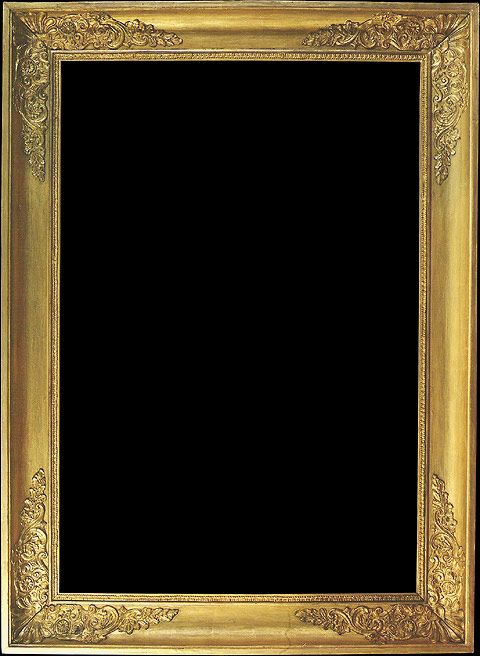 Empire Gold Picture Frame - 19th century France