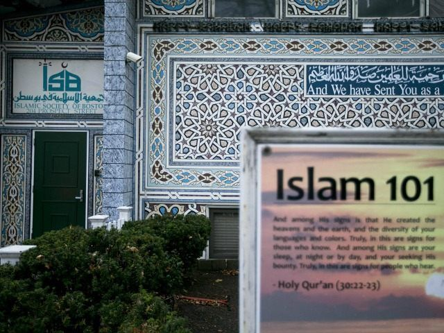 Islamic Center YOON S. BYUN/Boston Globe.. The article is on Brietbart