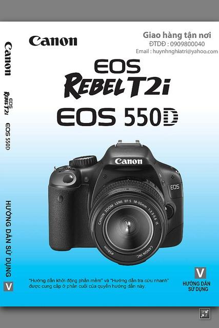 Hướng dẫn sử dụng tiếng việt máy ảnh Canon 60D, 600D,5D ...