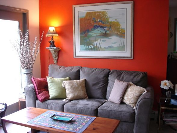 17 Best Ideas About Orange Accent Walls On Pinterest Orange Walls Orange B