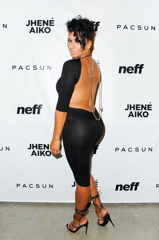 Laura Govan smoldered at the Jhené Aiko Pacsun Soul of Summer Collection Launch