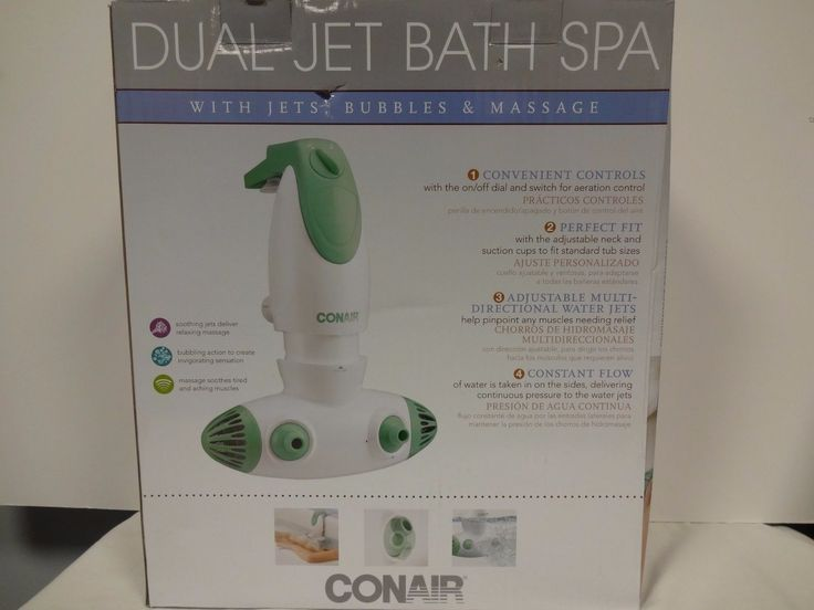 Charming Conair Dual Jet Bath Spa Contemporary - Bathtub for ...