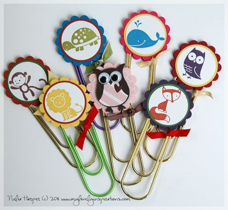 I found one of these at a craft fair and then made my own as gifts for my book group--they were a hit!