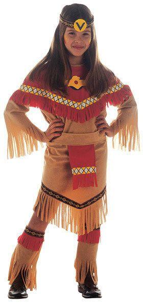 Indianerin Wildwest Kinderkostüm braun-rot , günstige Faschings  Kostüme bei Karneval Megastore, der größte Karneval und Faschings Kostüm- und Partyartikel Online Shop Europas!