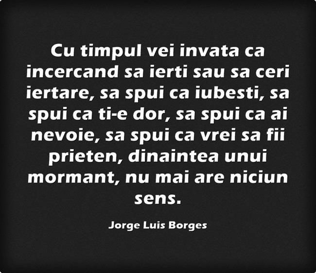 Cele mai frumoase citate de iubire: Alfabetul dragostei dupa Jorge Luis Borges