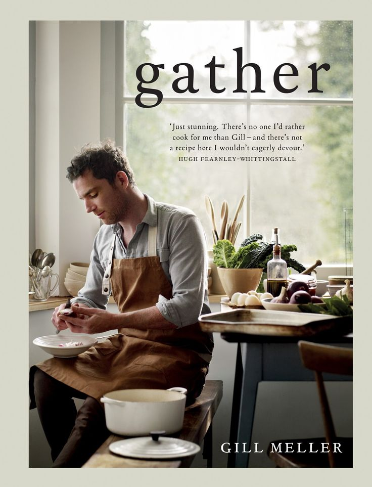 Gill Meller's Gather is absolutely sui generis: it has a voice and sensibility - I'd even say a poetry - all of its own. Beautiful writing, beautiful food: this is an exquisite book that I cannot stop reading; and every recipe makes me consider ingredients and flavours afresh and beckons me into the kitchen.
