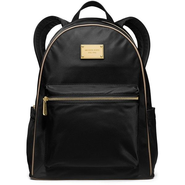 MICHAEL MICHAEL KORS Jet Set Nylon Large Backpack found on Polyvore