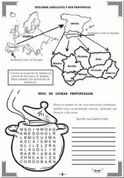 Cuadernillos para el día de Andalucía