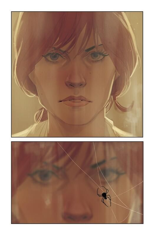 Preview of Phil Noto art in the upcoming Black Widow comic. From Axel Alonso's twitter.