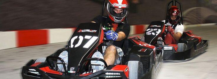 Autobahn Indoor Speedway- Baltimore Go Kart Racing Fun