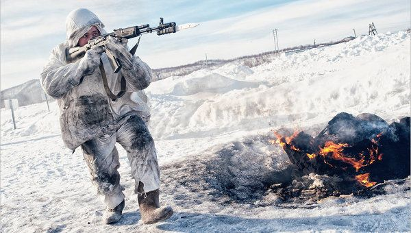 Russian Tactical Drills in the Arctic (Archive)