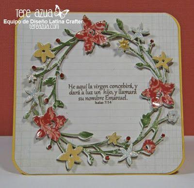 Latina Crafter - Sellos en Español: Frases Navideñas