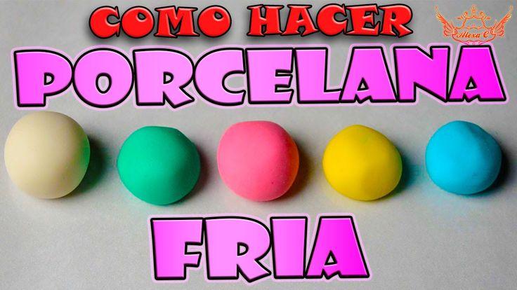♥ Tutorial : Receta Casera de Porcelana Fría / Masa flexible SIN FUEGO ♥