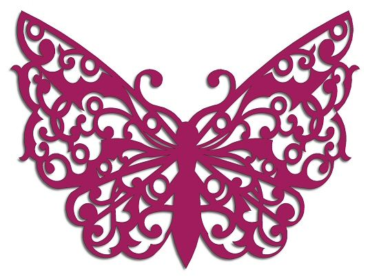 Look at this beautiful BUTTERFLY cut file (WPC, GSD, SS, SVG, PDF & EPS) at KrewellaKreations.co.uk/blog/