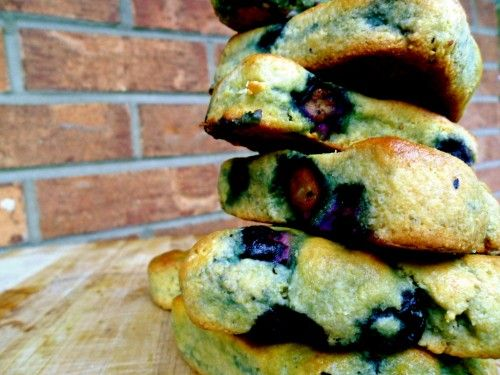 Gluten-Free Almond Flour Blueberry Scones or Scuffins
