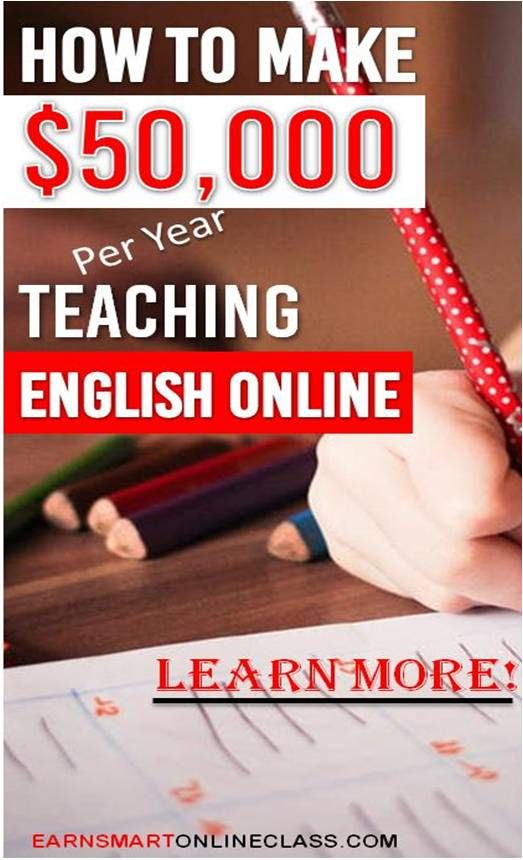 Do you having tutoring or mentoring experience? If you do, then you can become an ESL teacher and make $50,000 per teaching English online at VIPKid! #teacher #teachenglishonline #vipkid