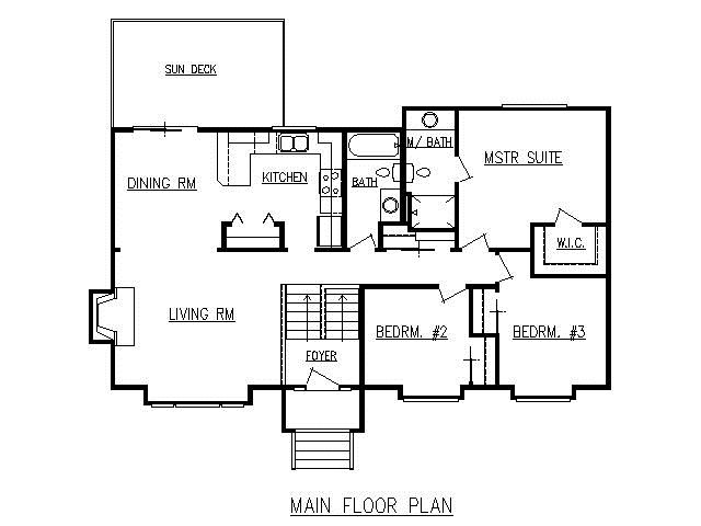 split level floor plans 1970 gurus floor ForSplit Level Addition Plans
