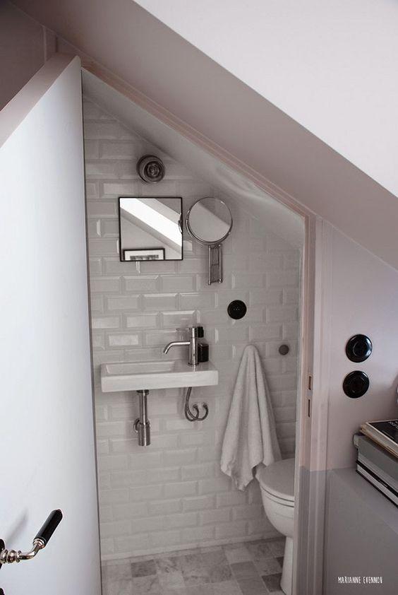 oltre 25 fantastiche idee su bagno sottoscala su pinterest | rampa ... - Da Ripostiglio A Bagno