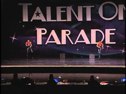 Performance at the 2013 Talent on Parade Dance Competition in Joplin, MO.  McKenzie Burns and Kassidy Dalton.  11-12 Novice Tap Category.  Place 2nd over all Novice Duet/Trios. Stockton Dance Elite Studio in Stockton, MO