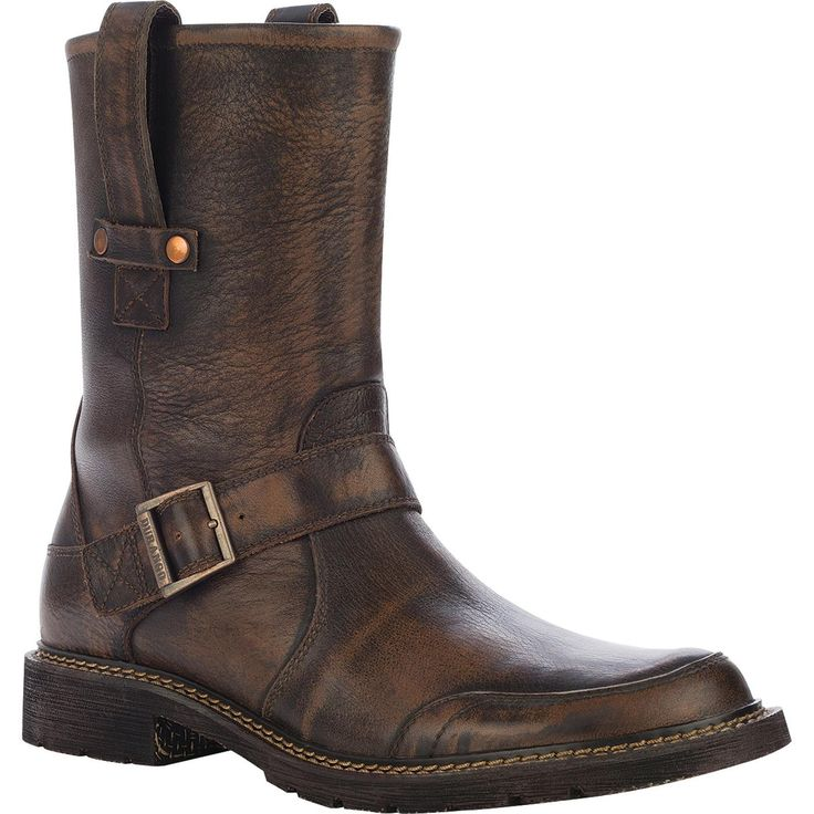 "Durango City Chicago: Men's 11"" Leather Engineer Boots - Style #DB5584 - Durango Boot Company"