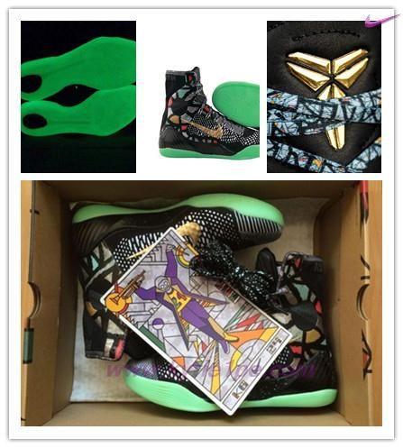 """Nero Nike Kobe 9 Elite """"All Star"""" 630847-002 Uomo vendita online scarpe sportive"""