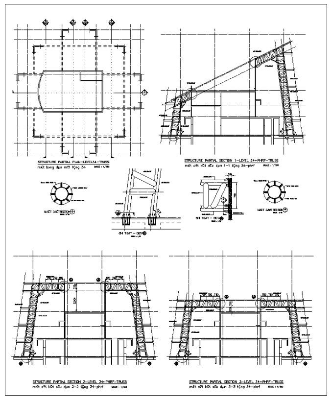 50 best steel structure details cad drawings download Building structural design software free download