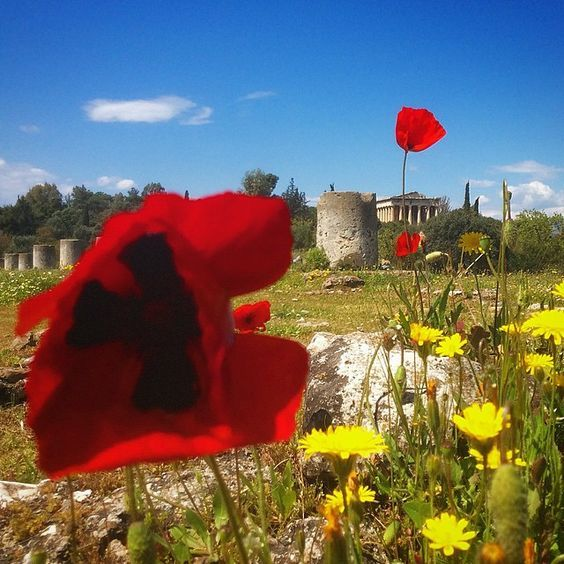 Greek Easter | Spring at the Ancient Agora