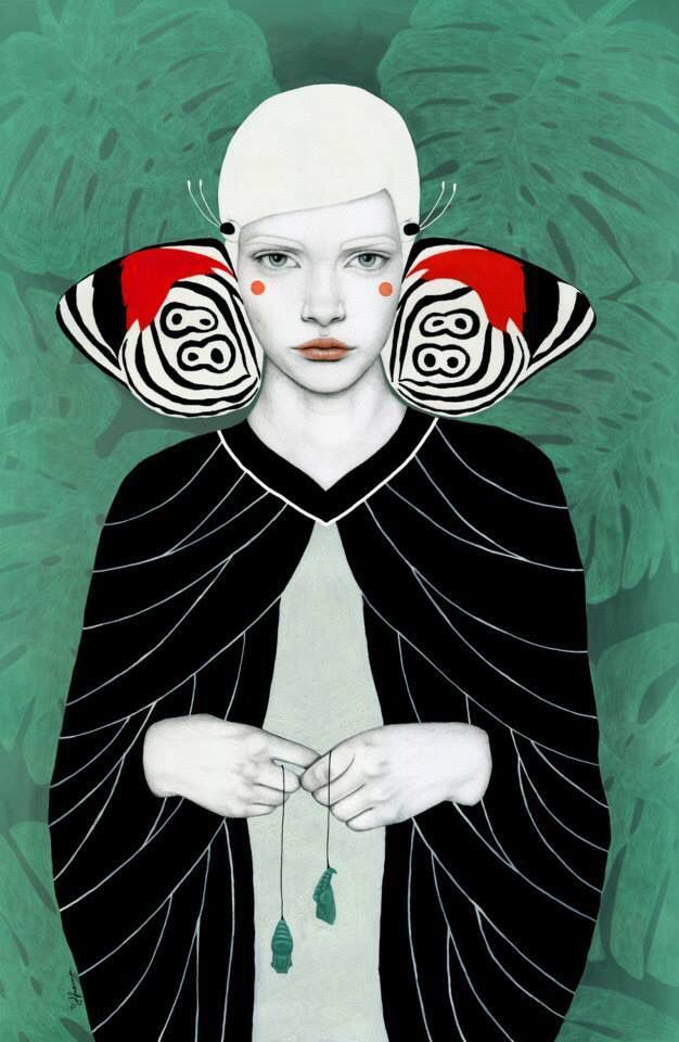 Beautiful illustration by Sofia Bonati