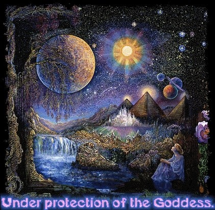 The Waning Moon    When the moon is waning, it is on its way from full to dark, and grows smaller each night. This is a time when rituals and rites of banishment are appropriate. Use this time to send things away from you -- eliminate a toxic relationship, send away your financial problems or cast off all the things in your life that are negative.    ~  Blessed Be  ~       From The Coven Avalon page:  https://www.facebook.com/pages/The-Coven-Avalon/167257740006205