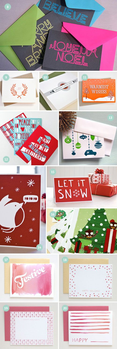 2011 Holiday Card Designs