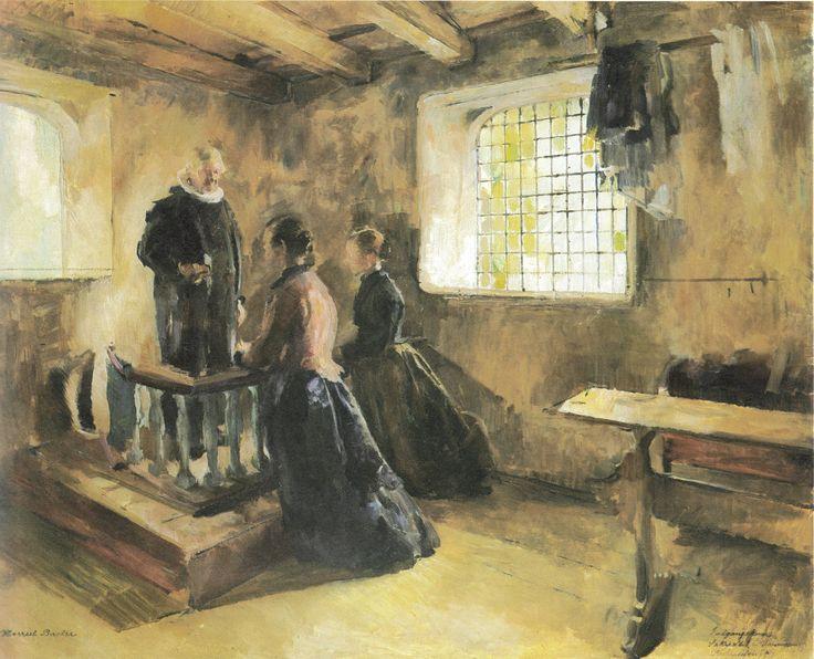 Harriet Backer - Inngangskoner 1892