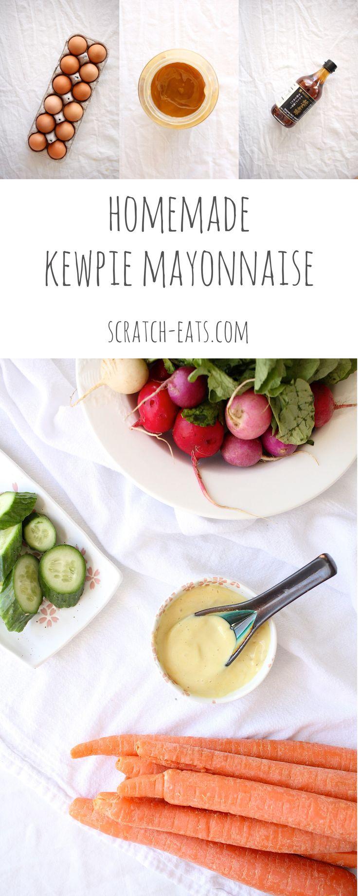 Homemade Kewpie Mayonnaise