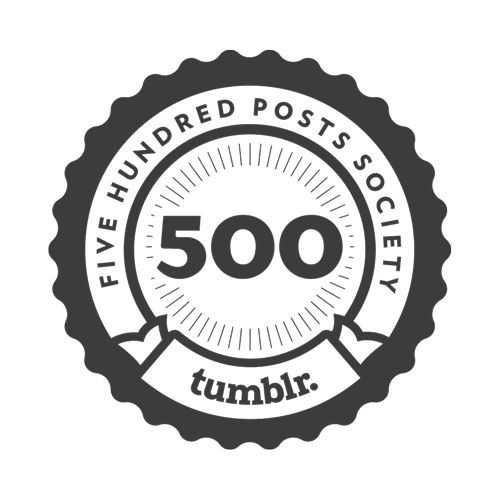#BLOGdoMaracajá: Five Hundred Posts Society