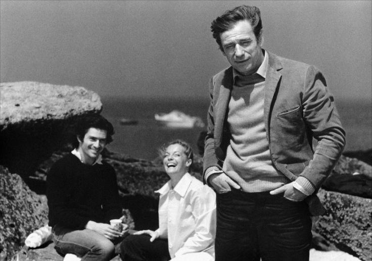 César et Rosalie - Sami Frey - Yves Montand - Romy Schneider...Un de mes films préférés....   :-)