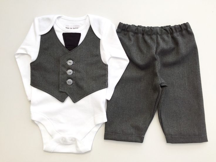 A personal favorite from my Etsy shop https://www.etsy.com/listing/188165674/baby-suit-little-boys-wedding-outfit