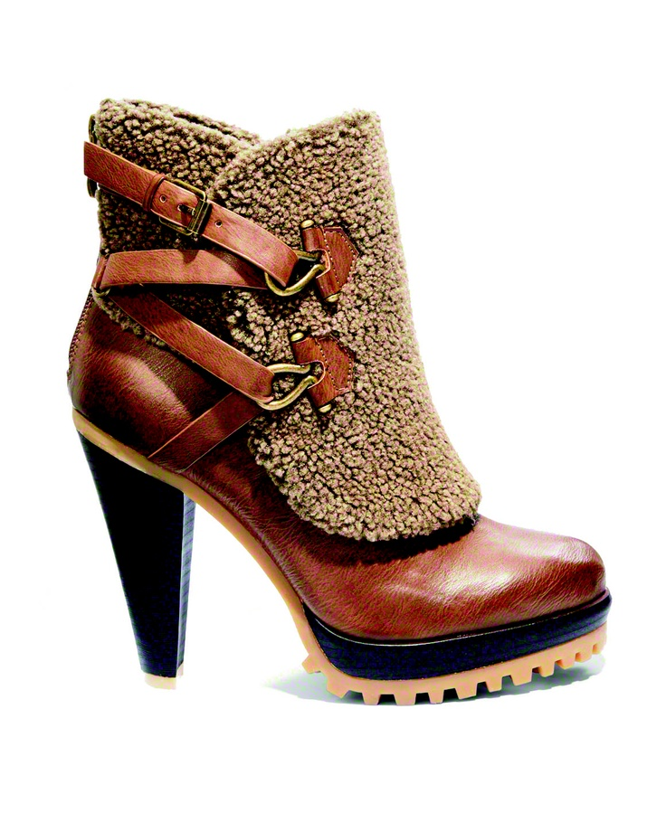 Rugged Heeled Booties As Featured In The September Issue Of Cosmopolitan Fall