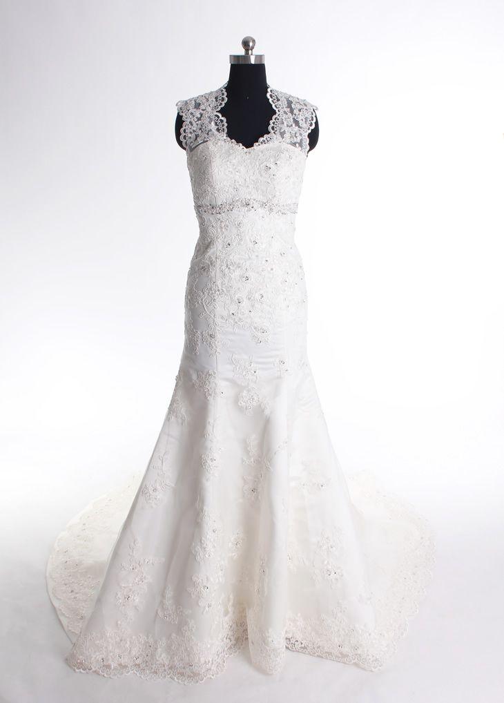 Attractive Straps Sleeveless Tulle wedding dress