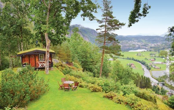 House in Norheimsund, Norway.