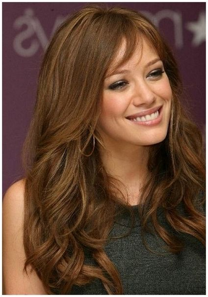 Mid brown hair color