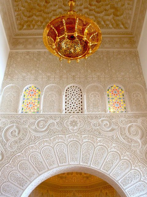Coquimbo mosque decorations by German Vogel