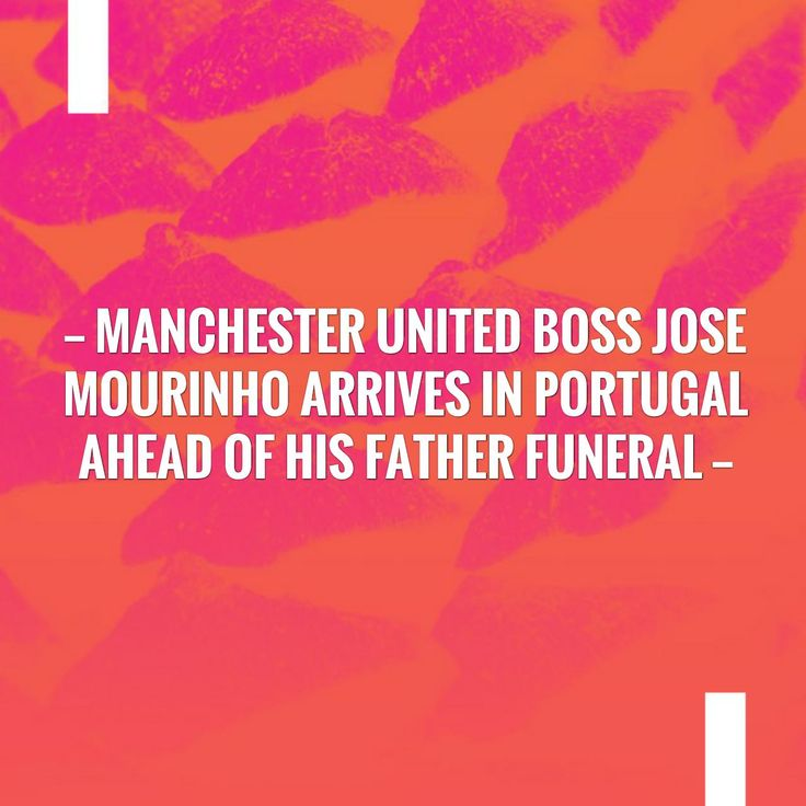 New on my blog! Manchester United boss Jose Mourinho arrives in Portugal ahead of his father funeral http://sportstribunal.com/football/talks/manchester-united-boss-jose-mourinho-arrives-in-portugal-ahead-of-his-father-funeral/?utm_campaign=crowdfire&utm_content=crowdfire&utm_medium=social&utm_source=pinterest