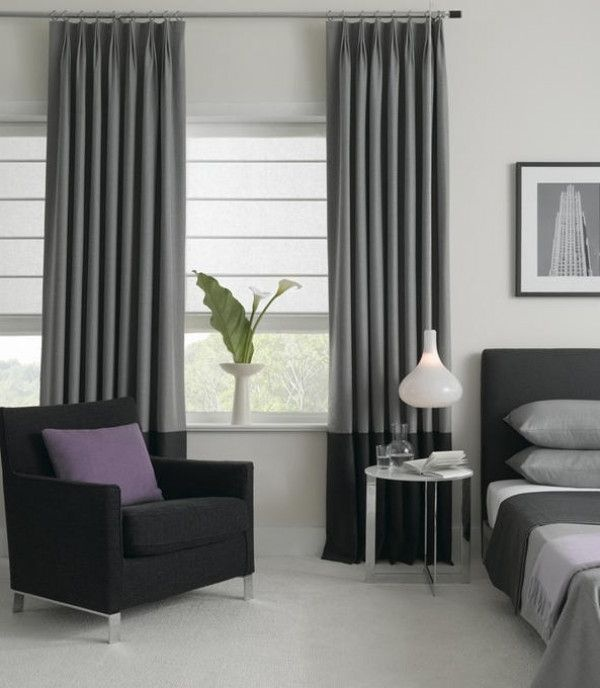 Best 25+ Grey Bedroom Blinds Ideas On Pinterest