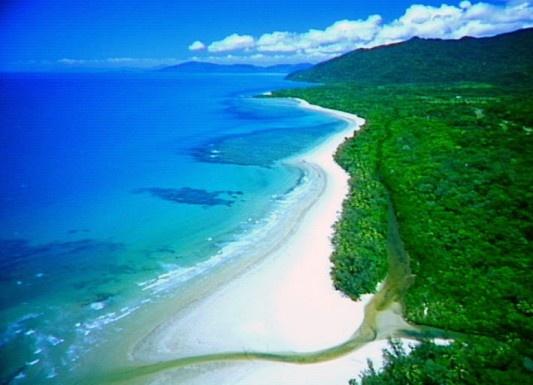 Unspoilt beach... Daintree Rainforest, Queensland, Australia, beautiful lots of fun activities