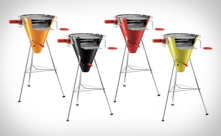 Bodum Fyrkat Cone Charcoal Grill: Bbq Bodum, Charcoal Grilled, Cones Charcoal, Bbq Design, Bodum Frykat Grilled Jpg, Fyrkat Cones, Products Design, Object Products Sculpture, This Bodum Fyrkat
