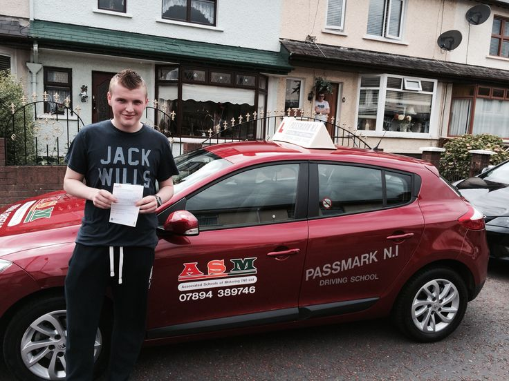 "Is he the youngest legal driver in Northern Ireland?  Jack White from the Woodvale area in Belfast, had his 17th birthday on Friday 27th June, On Tuesday the 1st of July he passed his theory test, and today Thursday 3rd July he passed his practical driving test at Boucher Rd Test centre with only 2 driver faults.  His ASM Instructor Mark Stevenson said ""What an achievement! and well deserved, as Jack worked very hard during his intensive driving course to gain the standard required,"