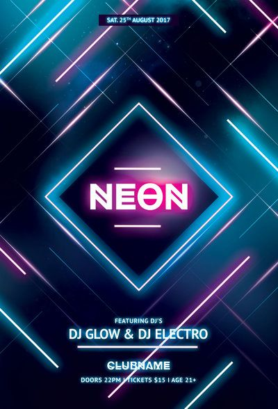 Neon Flyer by styleWish