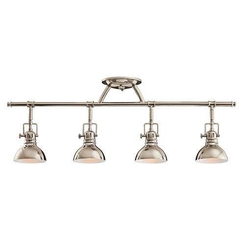 track lighting solutions. kichler polished nickel fourlight fixed rail island lightingkitchen lightingtrack lighting fixturesbasement track solutions